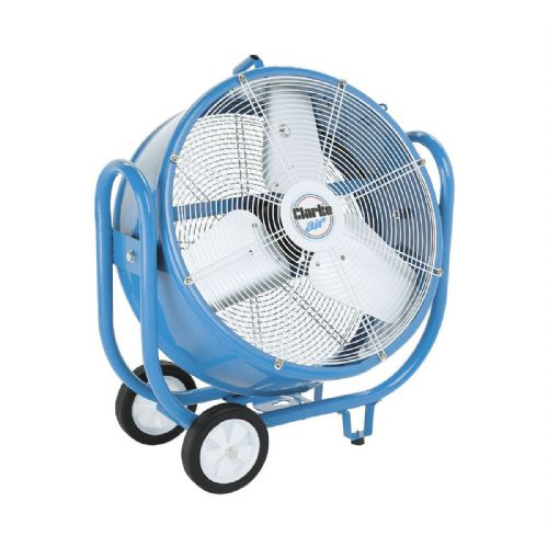 "Clarke CAM5002 24"" Robust Portable Industrial Electric Drum Fan 5900cfm 240V~50Hz"
